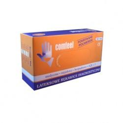 COMFEEL rękawiczki bezpudrowe lateksowe