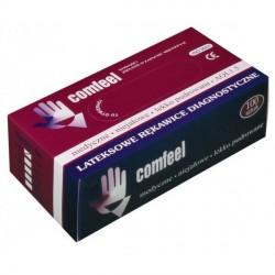 COMFEEL rękawiczki lekko pudrowane lateksowe roz. M
