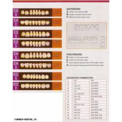 Zęby Formed SND boki górne