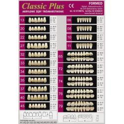 Zęby Formed Classic Plus Przody Górne
