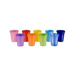 Kubki jednorazowe kolorowe